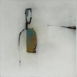 Solitaire, encre sur papier Arches, 57x57 cm, 2005