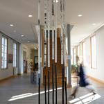 Médiathèque, Château-Thierry / Itinéraire poétique japonais, Blanzy / 2015
