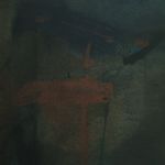 Passage, encre sur papier Arches, 50x64 cm, 1988