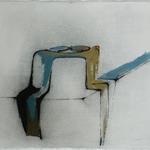 Juste équilibre, encre sur papier Arches, 76x57 cm, 2005