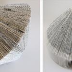 Livre-toupie, 23x30 cm, livre-yourte, 35x23 cm, 2006