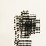 Empreinte typographique II, gravure monotype, 23X30 cm, 2013