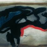 En marche, encre sur papier Arches, 76x57 cm, 1991