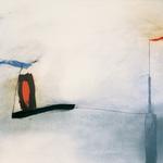 Avis de tempête, encre sur papier Arches, 120x80 cm, 1991