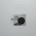 Ricochet, gravure eau-forte, 40x40 cm, 1/1, 2009