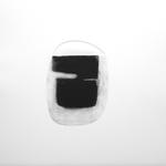 Eloge de l'ombre, gravure pointe sèche, 33x40 cm, 1/1, 2009