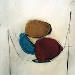 Coupe, encre sur papier Arches, 57x76 cm, 1991