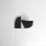 Au gré du vent, gravure pointe sèche, 40x40 cm, 1/3, 2009