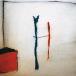 Un fil, encre sur papier Arches, 76x57 cm, 1993