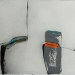 Entaille, encre sur papier Arches, 76x57 cm, 2005