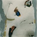 Un certain regard / Minéral / Sur un fil / encre sur papier Arches, 57x57 cm, 1997