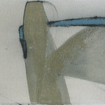 Au féminin ,  encre sur papier Arches, 76x19 cm, 2007