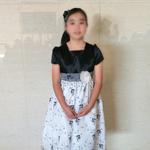 Aちゃん 第4回  日本バッハコンクール全国大会 銀賞