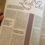 Artikel over Lash Art geschreven door Jose gepubliceerd in Lash Inc.