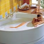 Schönes Wellness Badezimmer