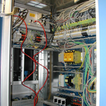 Control cabinet wiring