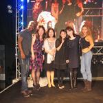 銀座でブーケショー開催。ブラジルダンサーは凄かった!!