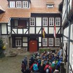 Ankunft auf der Jugendburg Ludwigstein