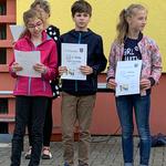 Gewinner der Matheolympiade der Klassen 4