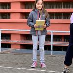 Gewinnerin der Matheolympiade des Unstrut-Hainich-Kreises