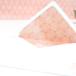 Briefumschlag mit Designerpapier