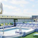 Pooldeck auf AIDAmira |©AIDA Cruises