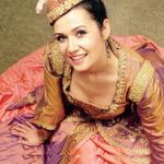 Akkordeonlehrerin Kalina Vachkova in Instrumentalunterricht Okatyev