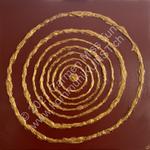Nr. 1803 - 80cm x 80cm x 2cm - Acryl & Gips auf Leinwand