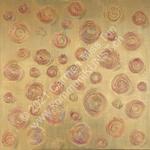Nr. 2001 - 80cm x 80cm x 2cm - Acryl & Gips auf Leinwand