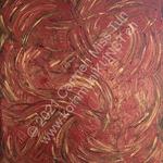 Nr. 1917 - 60cm x 50cm x 2cm - Acryl auf Leinwand - unverkäuflich