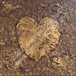 Nr. 1901 - 60cm x 60cm x 2cm - Acryl & Gips auf Leinwand