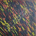 Nr. 2004 - 40cm x 40cm x 2cm - Acryl & Sand auf Leinwand