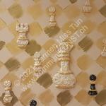 Nr. 1902 - 40cm x 40cm x 4cm - Acryl & Sand auf Leinwand - verkauft