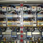 Detailaufnahme AC-Verteiler.