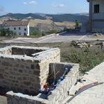 Cantiere a Oppido Lucano - predisposizione impianto irriguo per giardino privato