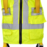 Model FH007 Safety Harness + Hi-Viz Vest (Front)