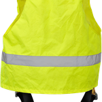 Model FH007 Safety Harness + Hi-Viz Vest (Back)