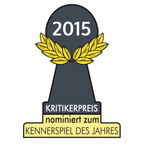 Nominierung zum Kennerspiel 2015