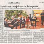 Konzert zwichsen den Jahren Dezember 2019 in Osterkirche Nürnberg
