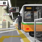 静かなターミナル(大阪線大阪梅田駅)