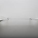 """""""L'avenir dure longtemps"""" - 2011, pyrex, sable, l: 80 cm  / verre soufflé au chalumeau / Bernaguer&Péjus (voir rubrique liens)"""