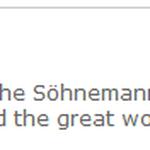 Website-Kommentar. Metaphysics/Söhne Mannheims. 7/2013