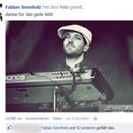 Fabian Sennholz/Keyboards Tim-Bendzko-Band. 2012