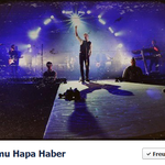 Samu Haber/Sunrise Avenue. Titelbild auf Facebook. 3/2013