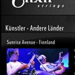 Sunrise Avenue. Website elixirstrings.de, 2012