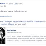 Paul Kaiser/u.a. Stanfour. Website www.paulkaiserdrums.com. 1/2014