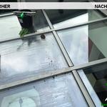Vorher, Nacher, Meixner Fensterputzer, Wintergarten