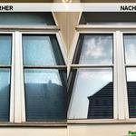 Vorher, Nacher, Meixner Fensterputzer Bilder Rahmenreinigung