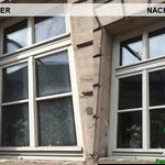 Vorher, Nacher, Meixner Fensterputzer Privatreinigung