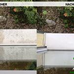 Vorher, Nacher, Meixner Fensterputzer, Fensterbretter